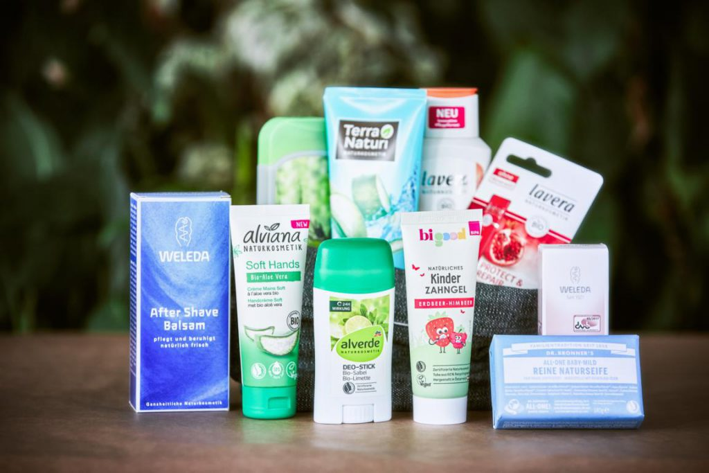 Growing range of natural cosmetics, but poor labeling