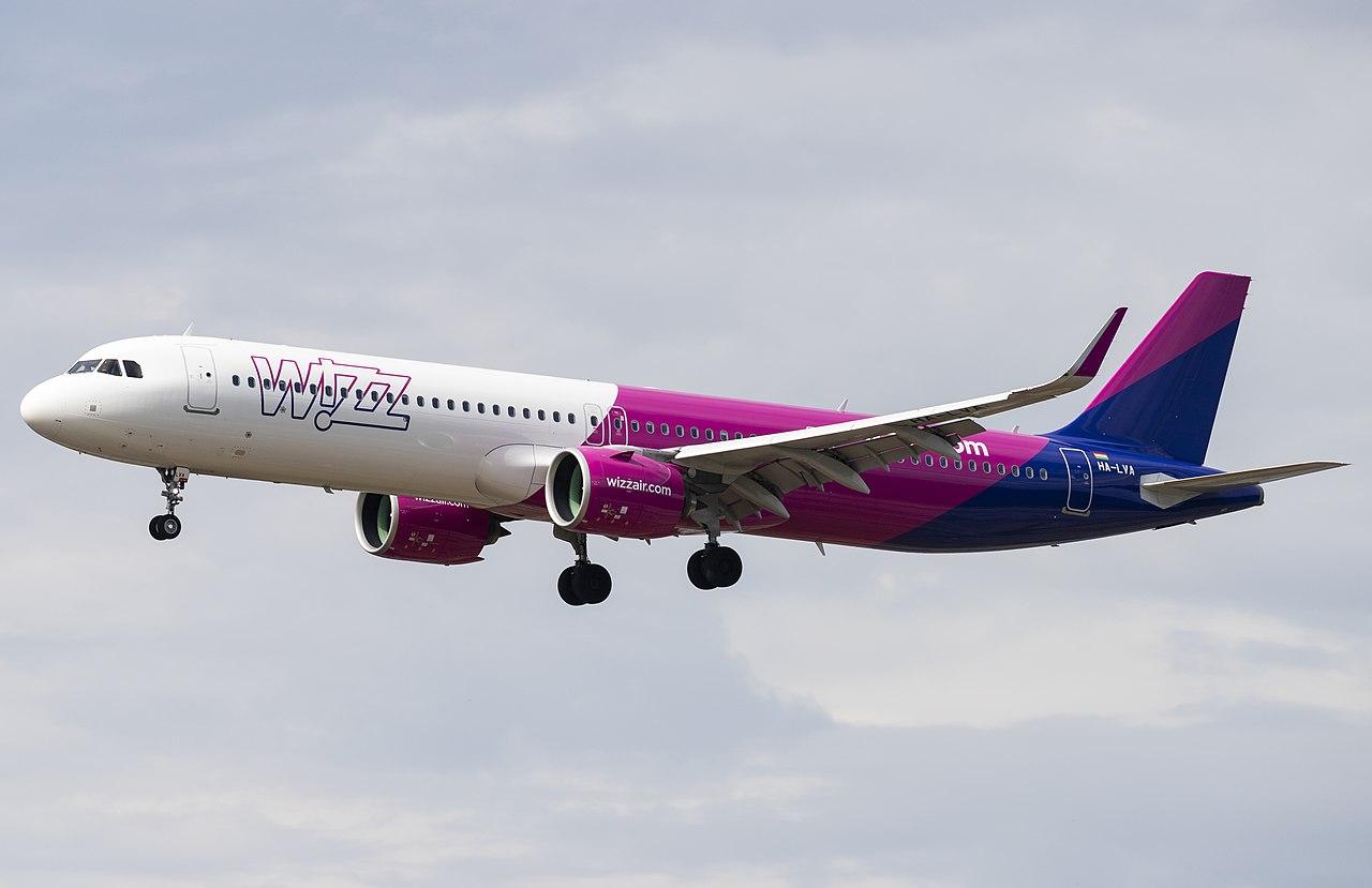 Flugzeug der Fluglinie Wizz Air